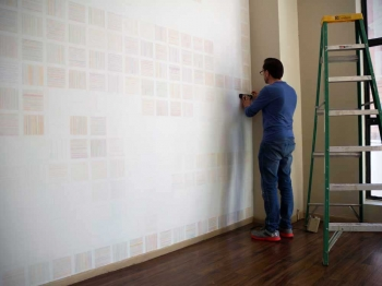 Fairmont Community Lines Wall Drawing Anthony Reans